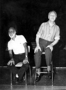 Jerome Robbins i George Balanchine, 1970.