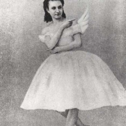 Anna Sobeshchanskaya as Odette in Moscow in 1877. Credit Fine Art Images/Heritage Images, via Getty Images
