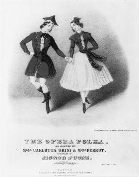 Jules Perrot i Carlota Grisi